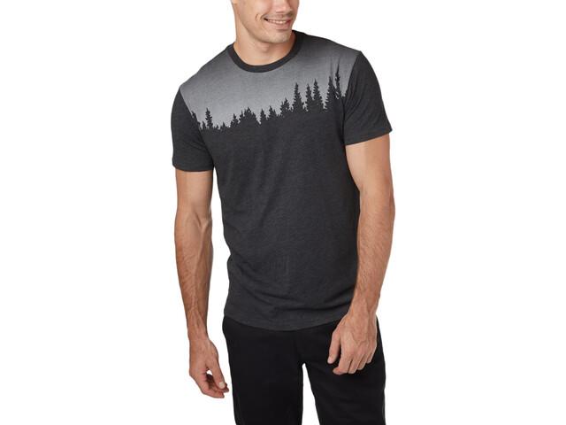 tentree Juniper T-shirt Homme, meteorite black heather
